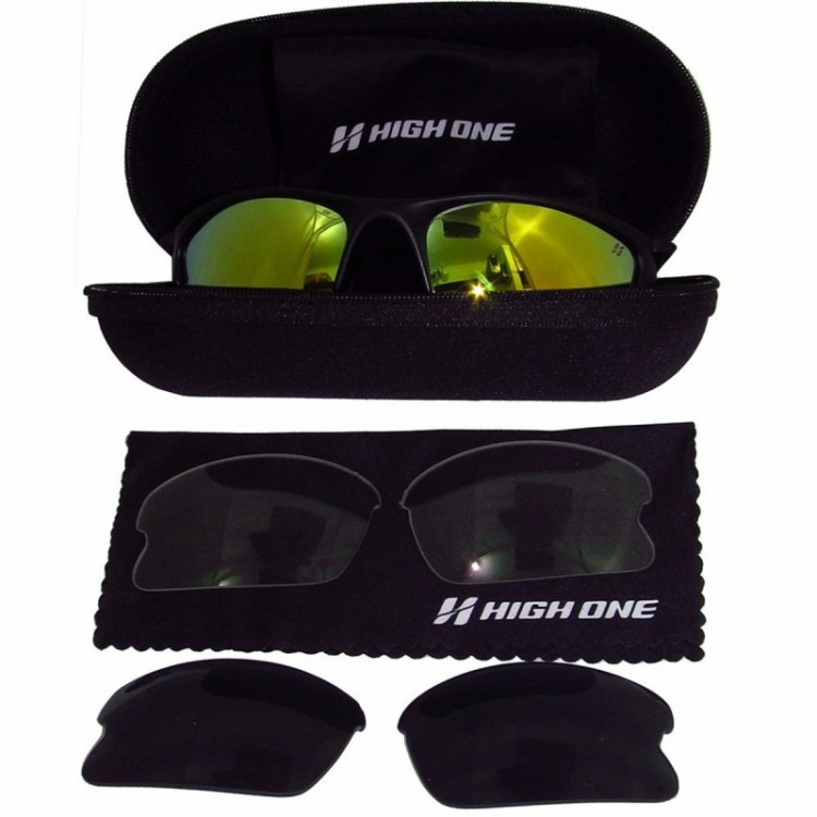 OCULOS IRON HIGH ONE C/3 LENTES AMR